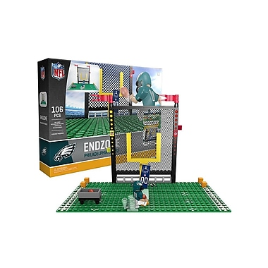 NFL – Ensemble Endzone de 106 blocs de construction, Eagles de Philadelphie