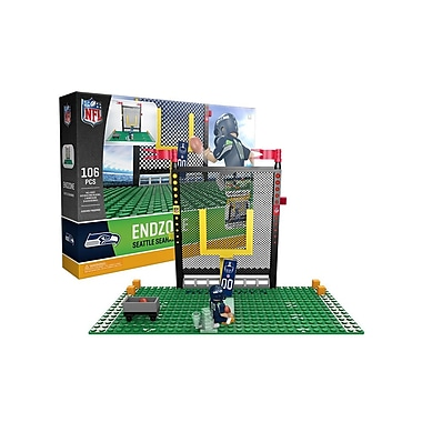NFL Endzone Set: Seattle Seahawks 106pc Building Block Set