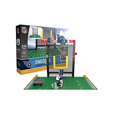 NFL Endzone Set: Tennessee Titans 106pc Building Block Set