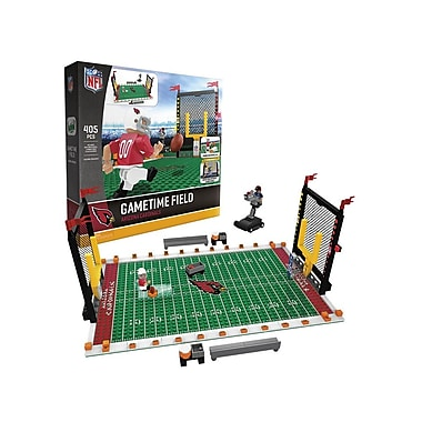 NFL – Ensemble de 405 blocs de construction Gametime Field, Cardinals d'Arizona