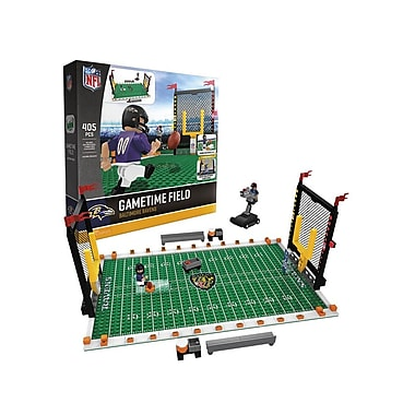 NFL Gametime Field: Baltimore Ravens 405pc Building Block Set
