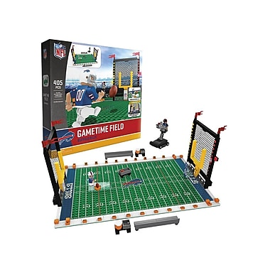 NFL Gametime Field: Buffalo Bills 405pc Building Block Set