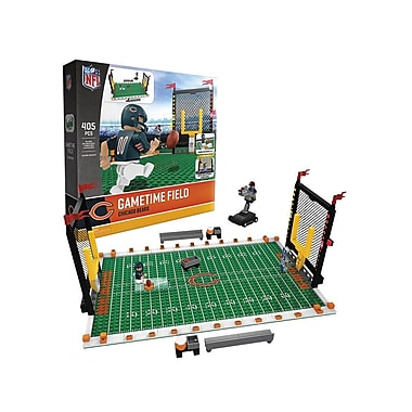 NFL – Ensemble de 405 blocs de construction Gametime Field, Chicago Bears
