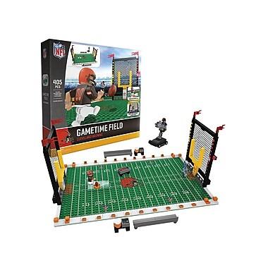 NFL Gametime Field: Cleveland Browns 405pc Building Block Set