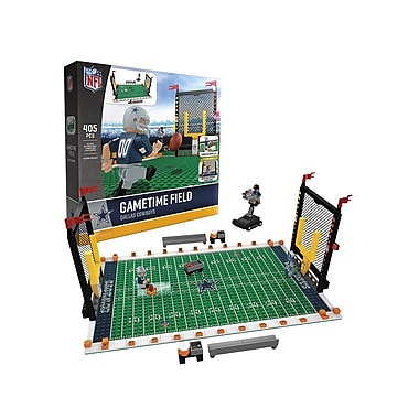 NFL – Ensemble de 405 blocs de construction Gametime Field, Cowboys de Dallas