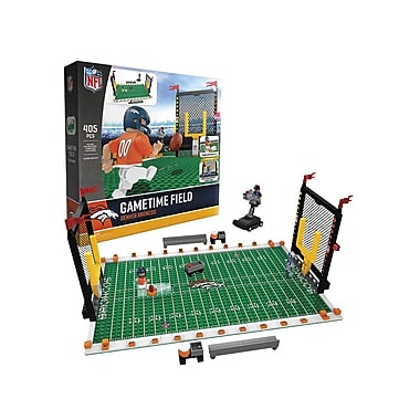 NFL – Ensemble de 405 blocs de construction Gametime Field, Broncos de Denver