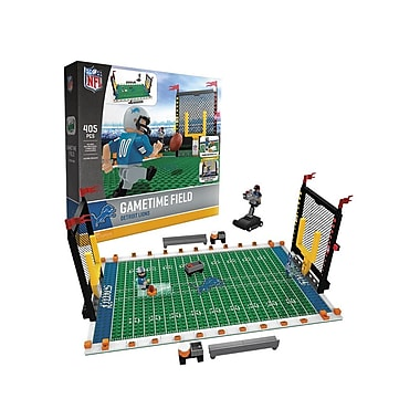 NFL Gametime Field: Detroit Lions 405pc Building Block Set