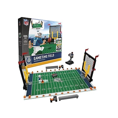 NFL – Ensemble de 405 blocs de construction Gametime Field, Colts de Indianapolis