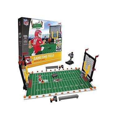 NFL Gametime Field: Kansas City Chiefs 405pc Building Block Set