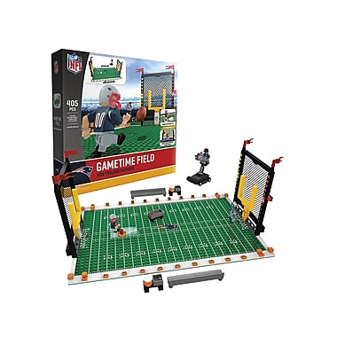 NFL – Ensemble de 405 blocs de construction Gametime Field, Patriots de New England