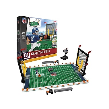 NFL Gametime Field: New York Giants 405pc Building Block Set