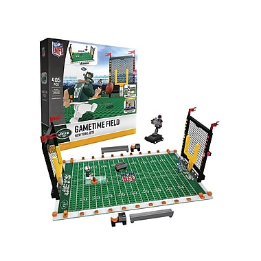 NFL – Ensemble de 405 blocs de construction Gametime Field, Jets de New York