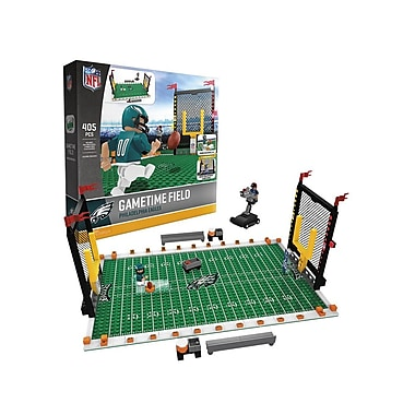NFL Gametime Field: Philadelphia Eagles 405pc Building Block Set