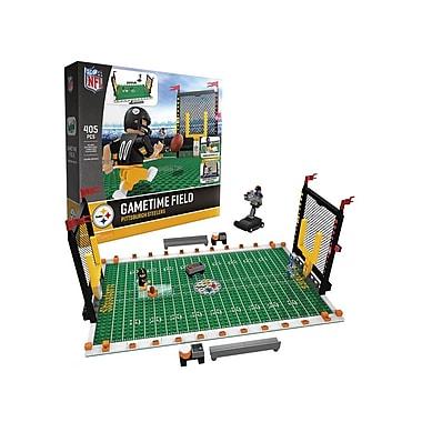 NFL – Ensemble de 405 blocs de construction Gametime Field, Steelers de Pittsburgh