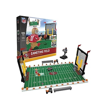 NFL – Ensemble de 405 blocs de construction Gametime Field, 49ers de San Francisco