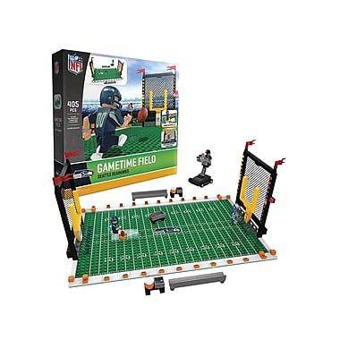 NFL Gametime Field: Seattle Seahawks 405pc Building Block Set