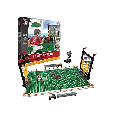 NFL – Ensemble de 405 blocs de construction Gametime Field, Buccaneers de Tampa Bay