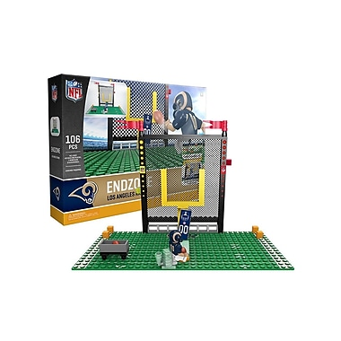 NFL Endzone Set: Los Angeles Rams 106pc Building Block Set