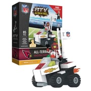 NFL ATV with Mascot: 85pc Building Block Set