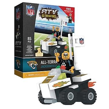 NFL – Ensemble de 85 blocs de construction pour véhicule tout-terrain avec mascotte, Jaguars de Jacksonville