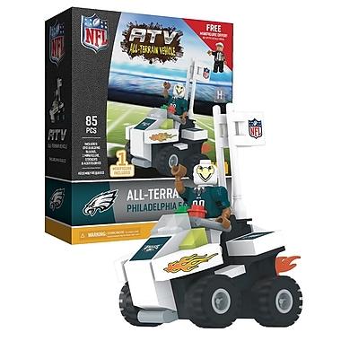NFL ATV with Mascot: Philadelphia Eagles 85pc Building Block Set