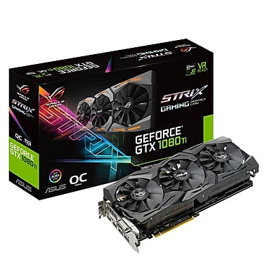 ASUS ROG Strix GeForce® GTX1080Ti Graphics Card (STRIX-GTX1080TI-O11G-GAMING)