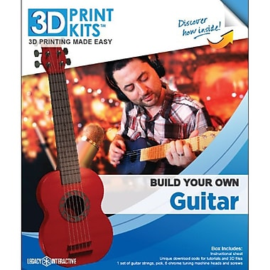 Robo 3D 00-0732-KIT Build Your Own Guitar Kit
