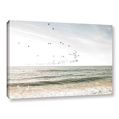 Highland Dunes 'West Hampton' Photographic Print on Canvas; 8'' H x 12'' W x 2'' D