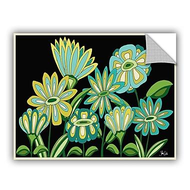 ArtWall Florals IV Wall Decal; 18'' H x 24'' W x 0.1'' D