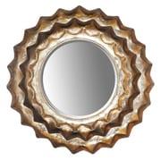 Ivy Bronx Sunburst Metal Accent Wall Mirror; 19'' H x 13.5'' W x 1'' D