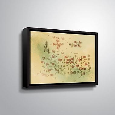 Ivy Bronx 'Sandstorm' Framed Graphic Art Print on Canvas; 24'' H x 36'' W x 2'' D