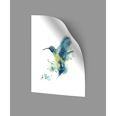 ArtWall Hummingbird Wall Decal; 18'' H x 14'' W x 0.1'' D