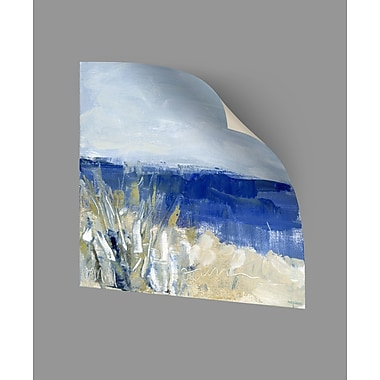 ArtWall Winter Beach II Wall Decal; 24'' H x 24'' W x 0.1'' D