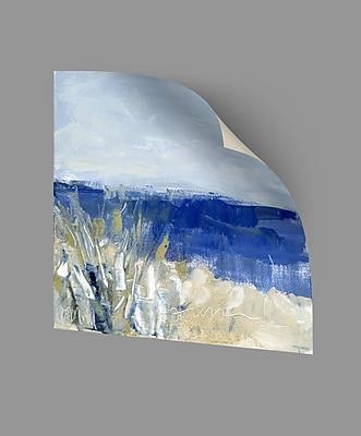ArtWall Winter Beach II Wall Decal; 36'' H x 36'' W x 0.1'' D