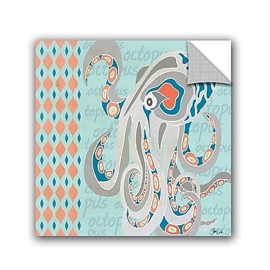 ArtWall Nautical Octopus Wall Decal; 18'' H x 18'' W x 0.1'' D