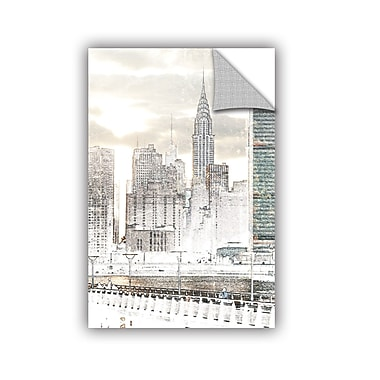 ArtWall In the Crowd Wall Decal; 12'' H x 8'' W x 0.1'' D