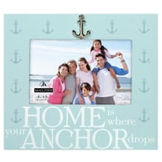 Longshore Tides Home is Where Anchor Drops Picture Frame