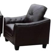 Latitude Run Behrends Arm Chair; Black