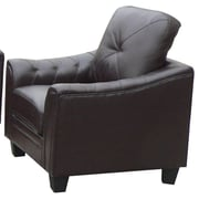 Latitude Run Behrends Arm Chair; Chocolate