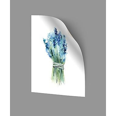 ArtWall Lavender II Wall Decal; 18'' H x 14'' W x 0.1'' D