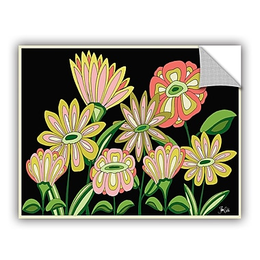 ArtWall Florals II Wall Decal; 8'' H x 10'' W x 0.1'' D