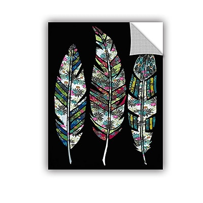 ArtWall Feathers Wall Decal; 48'' H x 36'' W x 0.1'' D