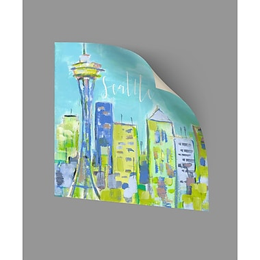 ArtWall Seattle Wall Decal; 10'' H x 10'' W x 0.1'' D