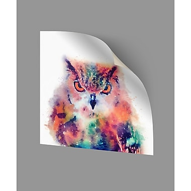 ArtWall The Wise II Wall Decal; 24'' H x 24'' W x 0.1'' D