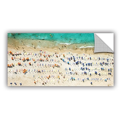 ArtWall Scott Medwetz Ituzu Beach Wall Sticker; 24'' H x 48'' W x 0.1'' D
