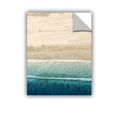 ArtWall Scott Medwetz Jupiter Beach Wall Sticker; 48'' H x 36'' W x 0.1'' D