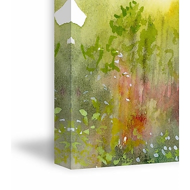 Latitude Run 'Spring Meadow' Painting Print on Wrapped Canvas; 30'' H x 20'' W x 1.5'' D