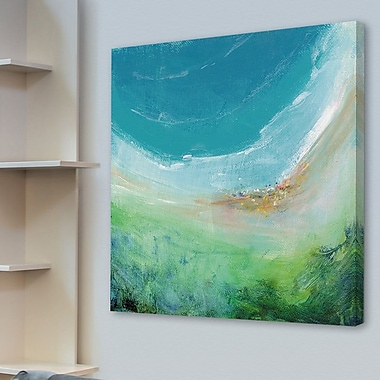 Latitude Run 'Seaside' Painting Print on Wrapped Canvas; 32'' H x 32'' W x 1.5'' D