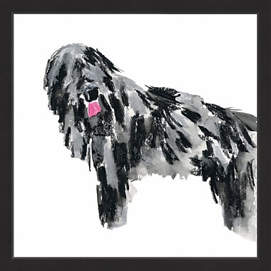 Latitude Run 'Shaggy' Framed Painting Print; 48'' H x 48'' W x 1.5'' D