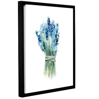 Ophelia & Co. 'Lavender II' Framed Print on Canvas; 48'' H x 36'' W x 2'' D